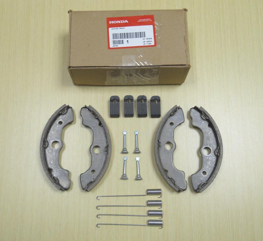 New 2000-2006 Honda TRX 350 TRX350 Rancher ATV OE Front Brakes Brake Shoes