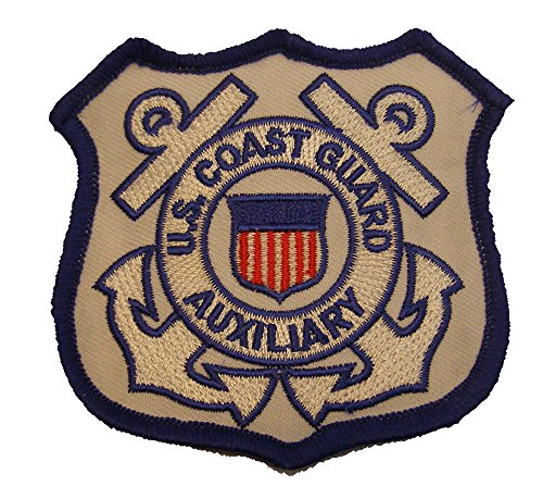 UNITED STATES COAST GUARD AUXILIARY PATCH - Color - Veteran Owned Business