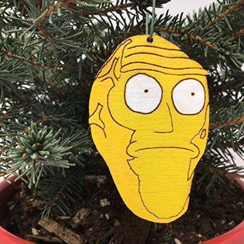 Rick And Morty Christmas Ornaments.Rick And Morty Cromulon Christmas Ornament Show Me What You Got Rear View Mirror Hanging Rick Morty Gift