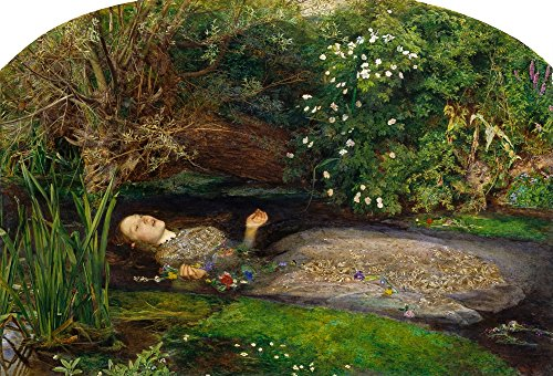 Posterazzi Ophelia History of Painting 1900 Poster Print by John E. Millais (18 x 24) ()