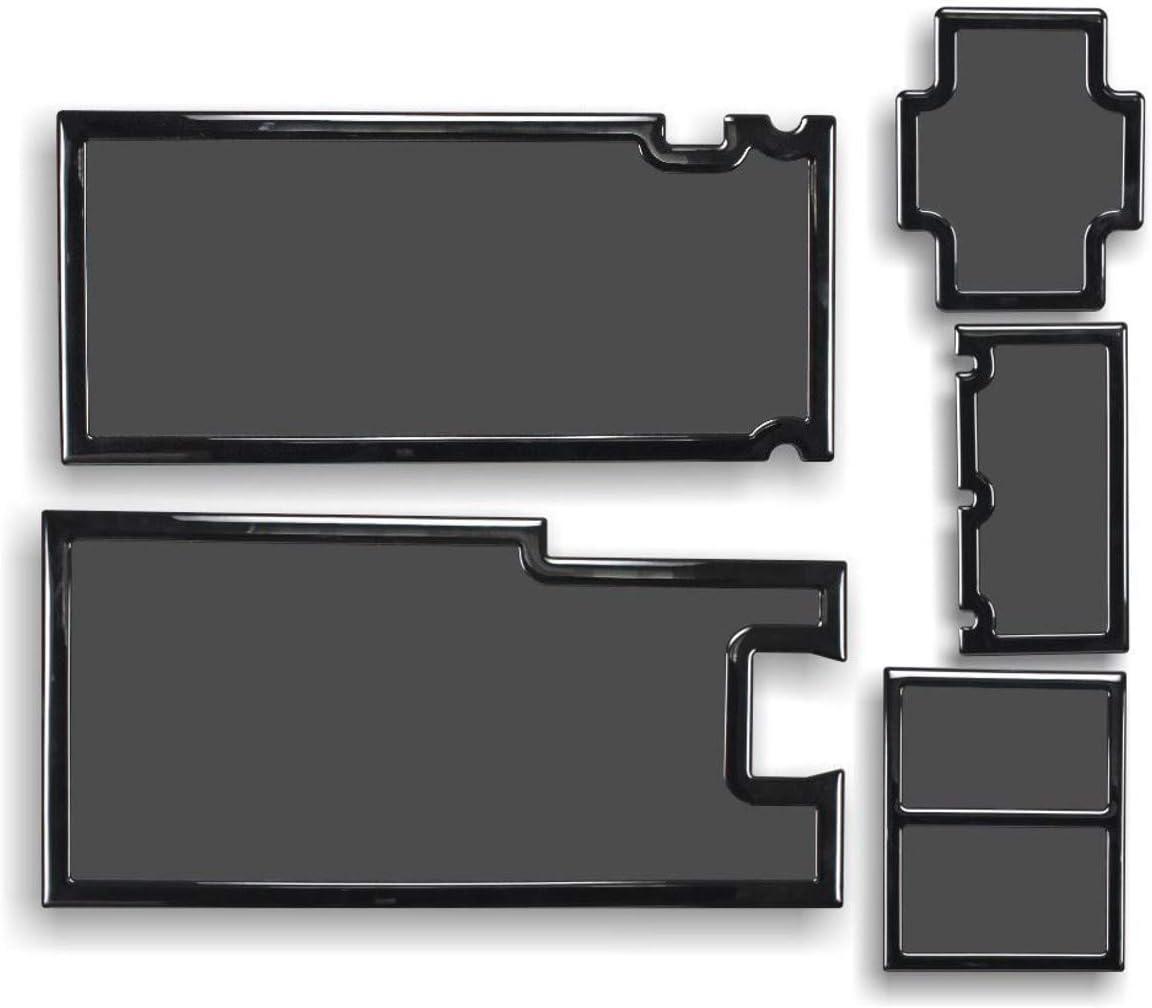 DEMCiflex Dust Filter Kit for Phanteks Enthoo Evolv ATX Glass, Black Frame/Black Mesh