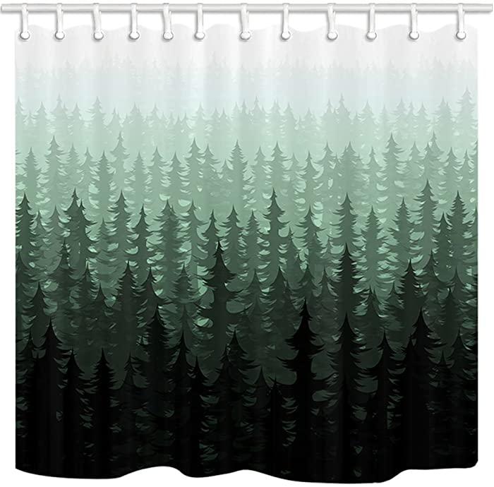 Top 9 Shower Curtains Nature Themetrees