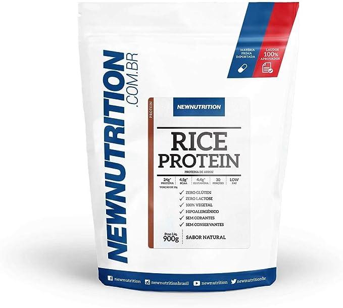 Rice Protein - 900g Natural - NewNutrition, Newnutrition por Newnutrition