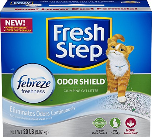 fresh-step-odor-shield-with-febreze-freshness-clumping-cat-litter-scented-20-pounds
