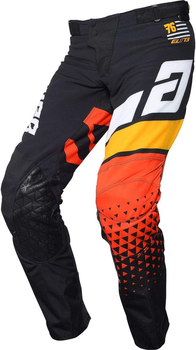 Midnight//White//Proyellow//Red 30 Answer Racing Elite Korza Mens Off-Road Motorcycle Pants