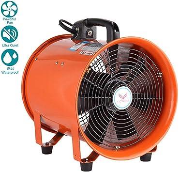 10 Inches / 250mm Ventilador Industrial Portátil Diámetro Axial ...