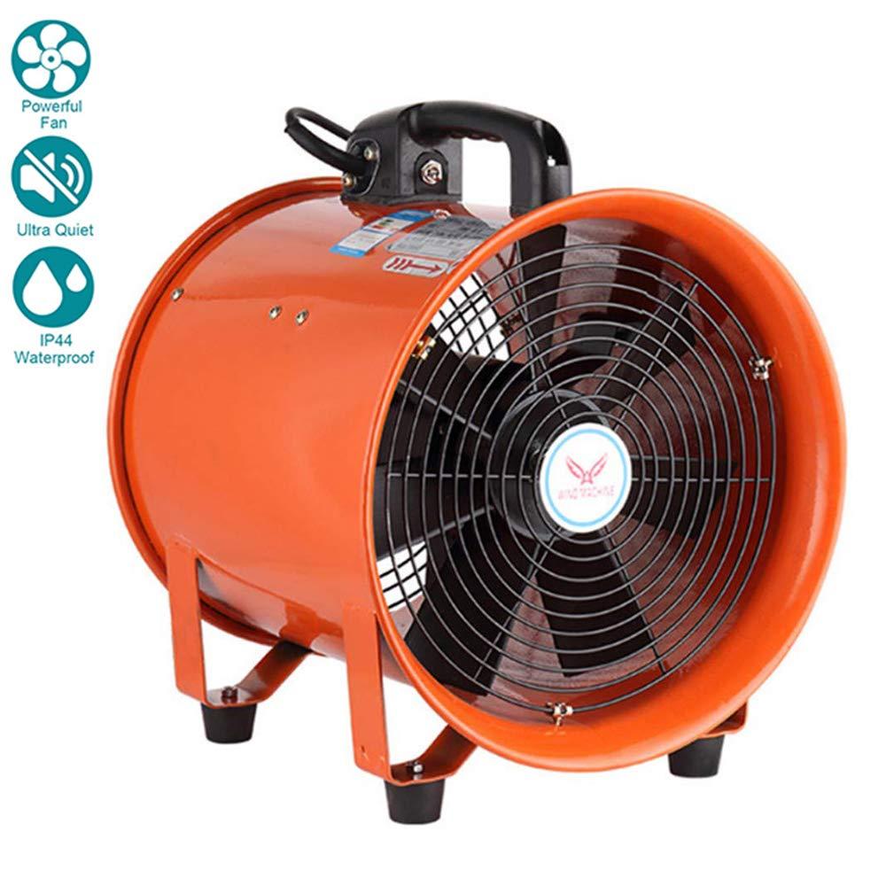 10 Inches / 250mm Ventilador Industrial Portátil Diámetro ...