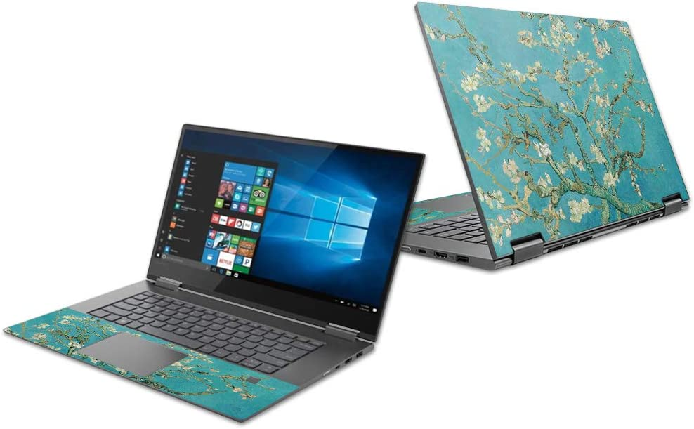 "Mightyskins Skin Compatible with Lenovo Yoga 730 13"" (2018) - Almond Blossom 
