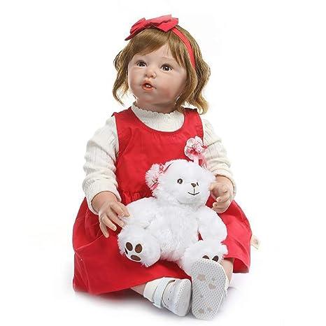 LBHE Reborn Muñecas de bebé de 31 Pulgadas 88cm Vinilo de ...