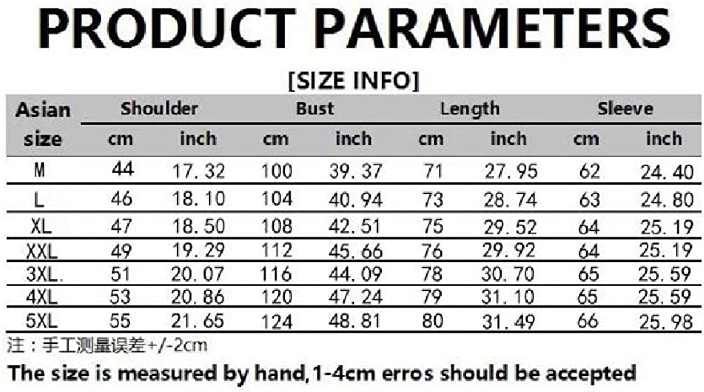 Zimaes-Men Botton Front Plus Size Long-Sleeve Premium Work Shirts