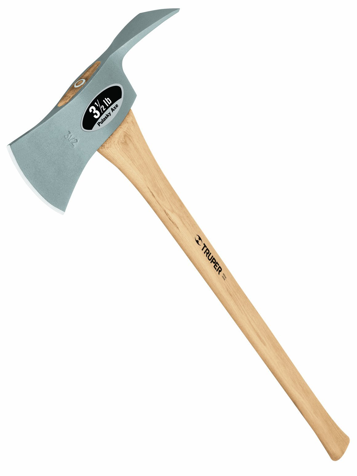 Truper 30529 3-1/2-Pound 35-Inch Pulaski Axe, Hickory Handle