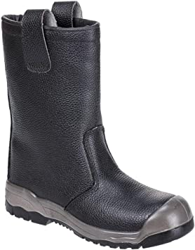 Rigger Scuff Cap Safety Work Boots