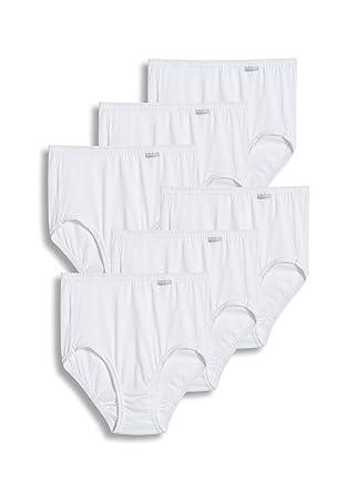 6217d969799 Jockey Women's Underwear Plus Size Elance Brief - 6 Pack at Amazon Women's  Clothing store:
