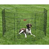"ProSelect Everlasting Exercise Dog Pen – Durable Construction in Secure Pen for Dog Shows or Backyard, 24×18"" Panel Size For Sale"