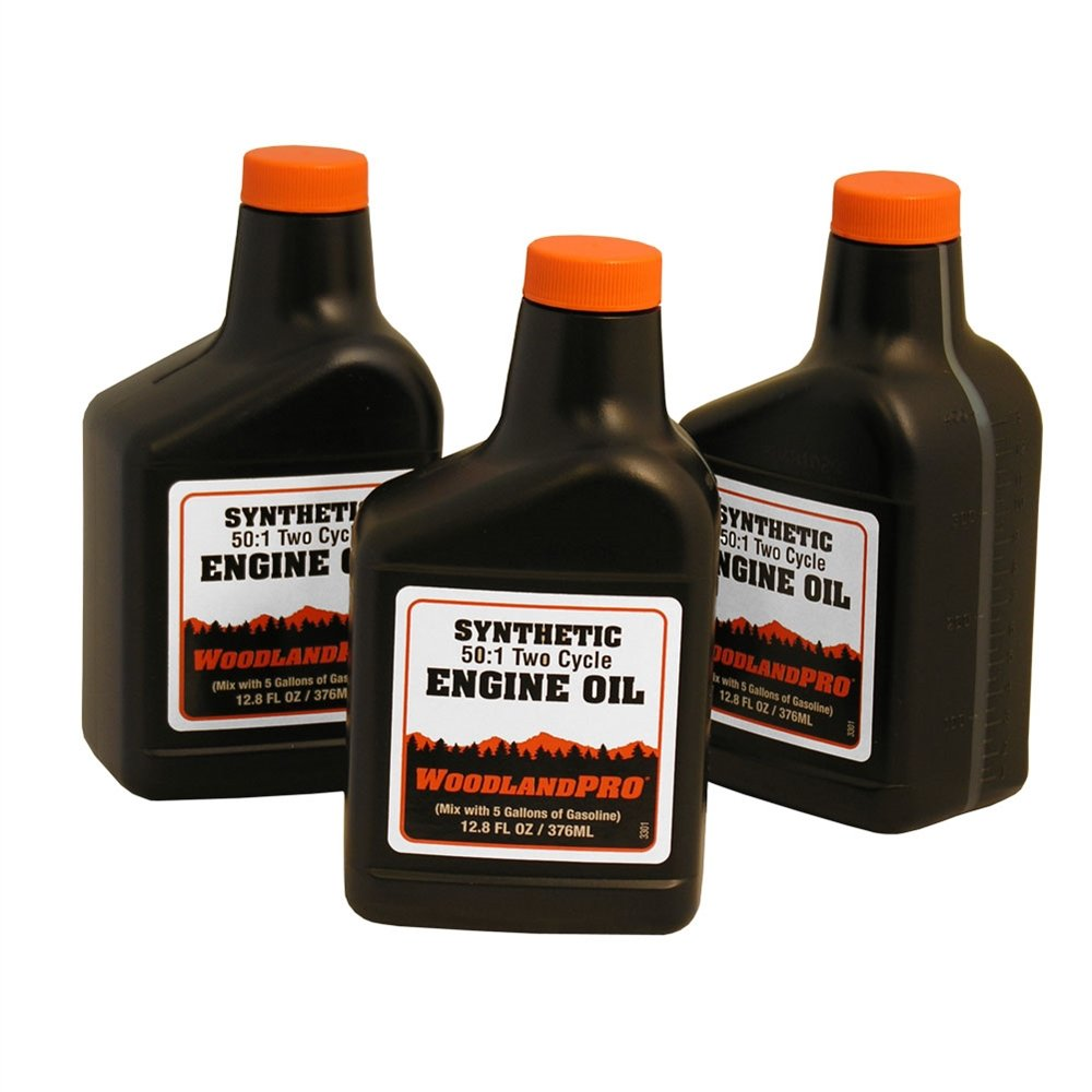 WoodlandPRO Synthetic 2-Cycle Engine Oil Mix 12.8 oz. - Case of 24 Bottles