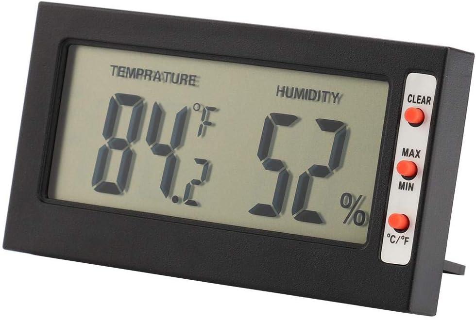 Supordu Digital Hygrometer Indoor Thermometer Humidity Monitor Gauge 2-in-1 Monitor