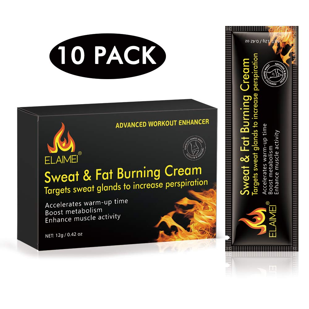 Hot Cream, Belly Fat Burner Slimming Cream, Sweat Enhancer Cream for Body Slimming & Firming With HEAT Sweat Technology -Thermogenic Weight Loss Workout Enhancer Gel