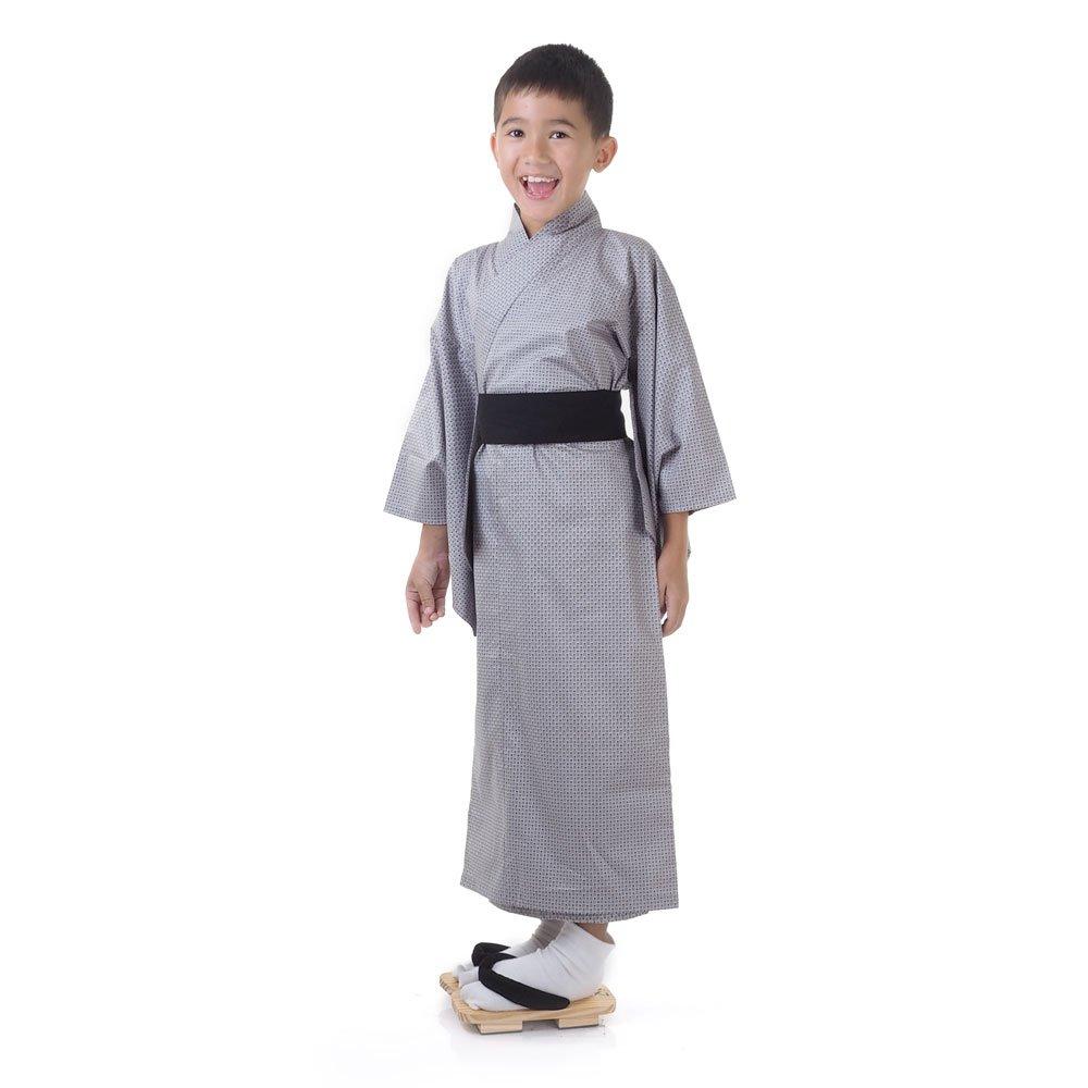 Japaner Jungen Yukata Kimono Obi Samurai Kinder Fasching Karneval ...