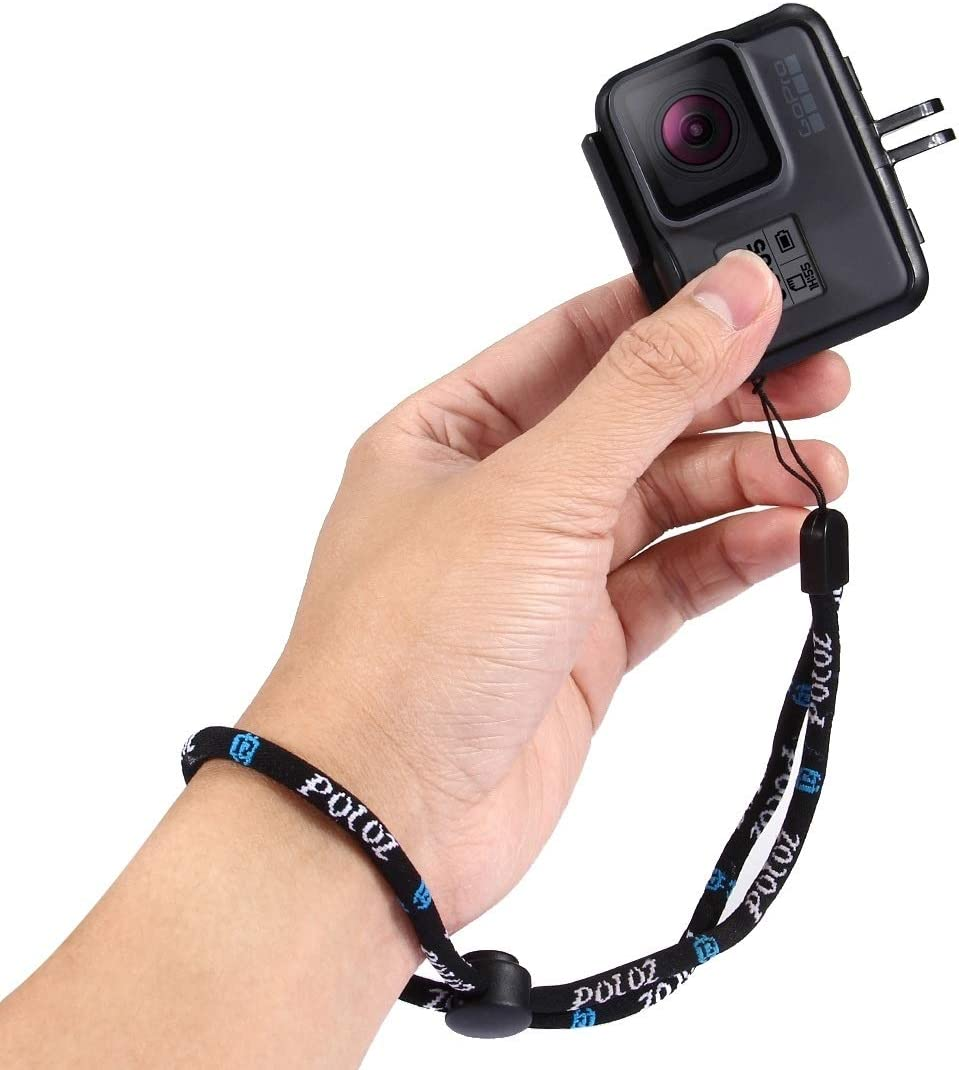 GoPro New Hero //HERO7 //6//5 //5 Session // 4 Session //4//3+ //3//2 //1 Length: 23cm Durable Hand Wrist Strap for DJI New Action Xiaoyi and Other Action Cameras