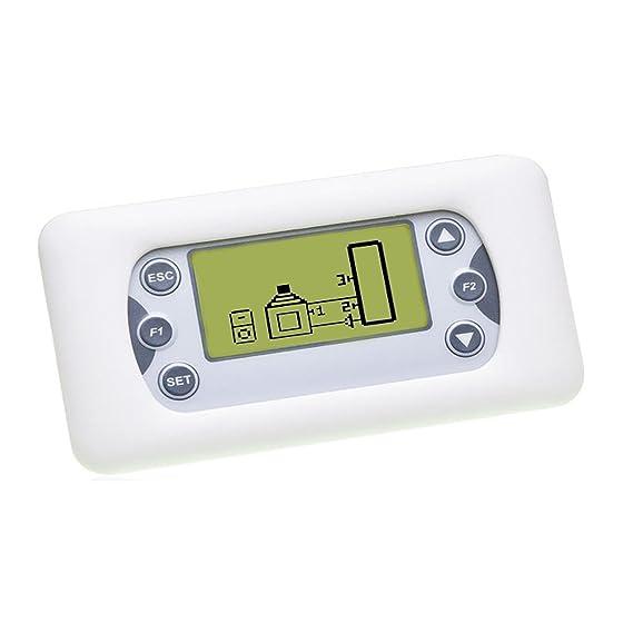 Temperatur-Differenzregler Holzkessel Kamin/öfen Mischventil f/ür R/ücklaufanhebung Ladepumpe Pufferspeicher Regler Steuerung Ofen
