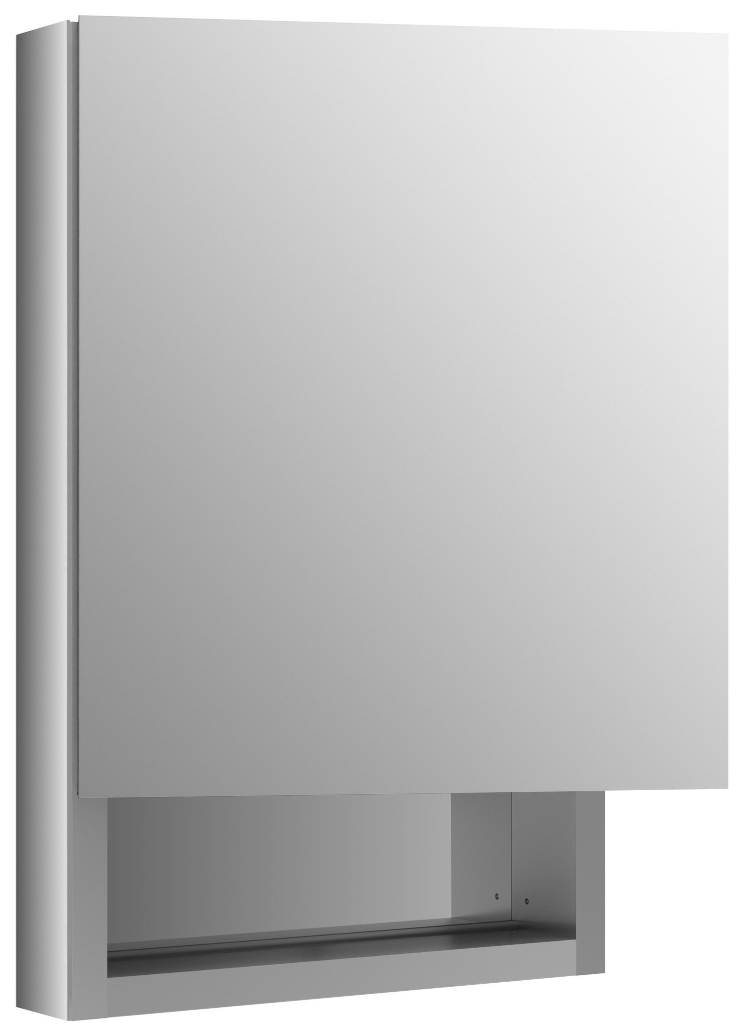 KOHLER K-99005-L-NA Verdera 20-Inch By 30-Inch Quick-Storage Medicine Cabinet With Magnifying Mirror, Left Hinge