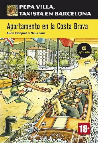 Pepa Villa, Taxista En Barcelona: Apartamento En LA Costa Brava + CD (Nivel A2) (Spanish Edition) ()