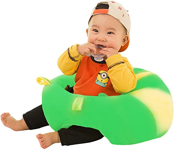Creative Cartoon Baby Sofa Cover Learn to Sit Seat Feeding Chair Case A Prettygood7 Baby Sofa Support Seat