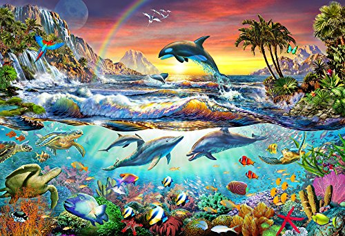 Vermont Christmas Company Paradise Cove Kid's Jigsaw Puzzle 100 ()