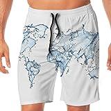 Bing4Bing Music Audio Equipment Summer Fast Dry Beach Men Swim Trunks