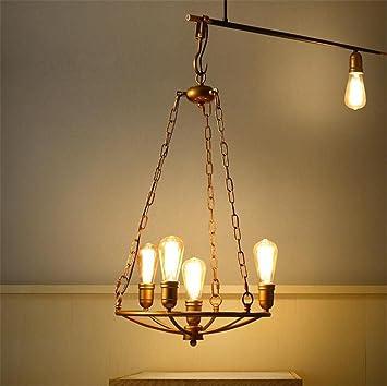Lámparas de araña Estufa araña Colgante Retro Grandes Luces de Techo Loft Estilo Vintage Industrial 5