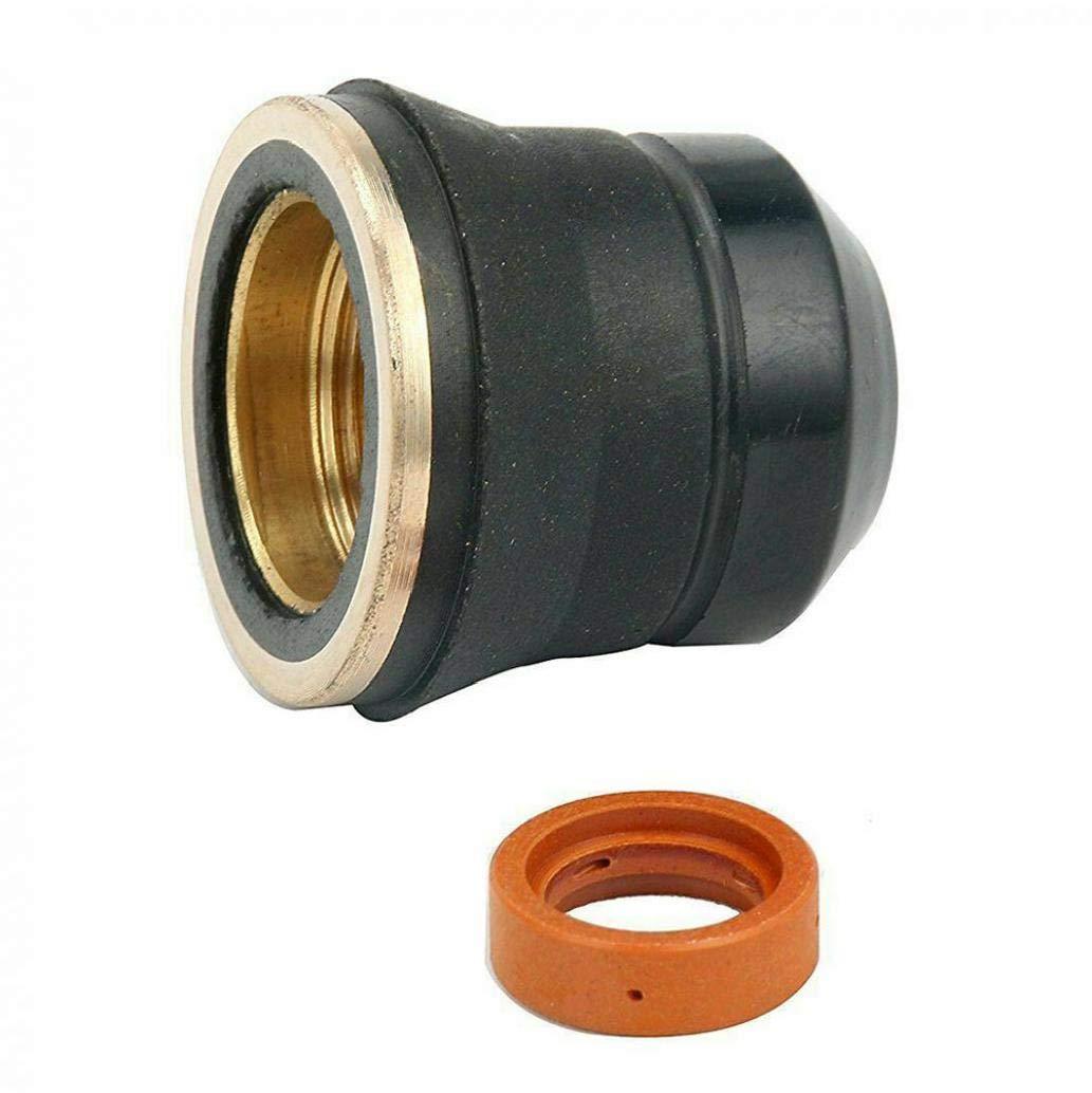 Bouchon de protection S45 /électrode tranche Buse plasma tranche torche de soudage Outil S45 Plasma Kit daccessoires 23pcs