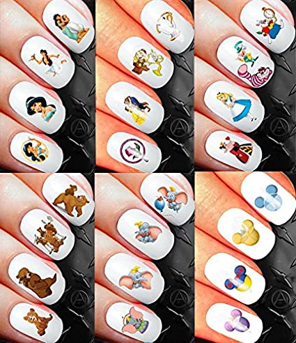 Amazon Minnie Mouse Minnie Mouse Classic Nail Art Waterslide