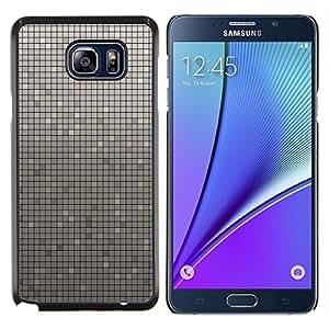 Caucho caso de Shell duro de la cubierta de accesorios de protección BY RAYDREAMMM - Samsung Galaxy Note 5 5th N9200 - Simple patrón de 33