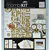 mambiKIT 12-inch by 12-inch Scrapbook Page Kit, Ocean