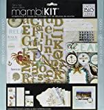 me & my BIG ideas mambiKIT Scrapbook Page Kit, Ocean, 12-Inch by 12-Inch