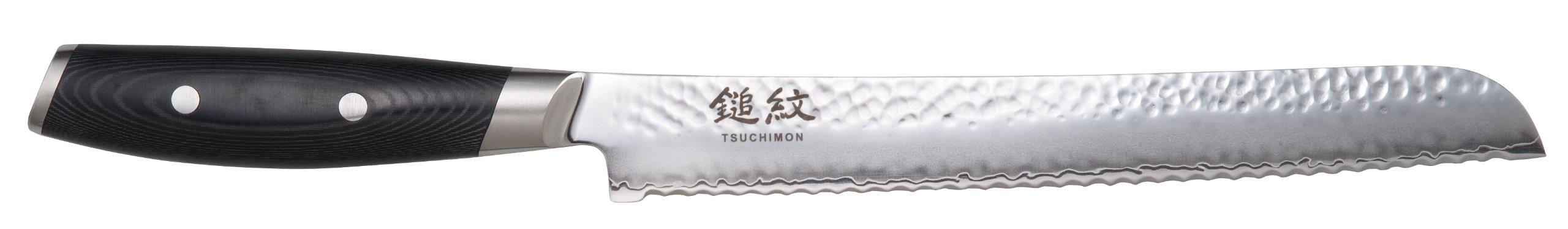 Yaxell Tsuchimon Bread Knife, 9-inch