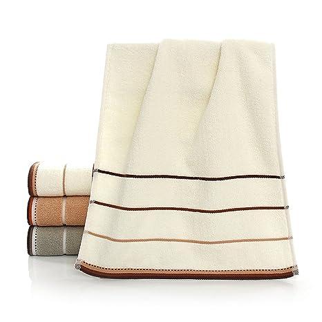 Tong Yue 34 x 76 cm extra suave algodón bordado toallas de mano, pack de