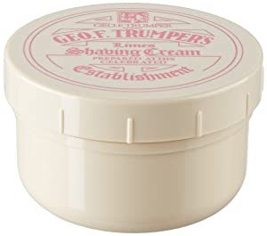 Geo F. Trumper Shaving Cream Tub - Lime