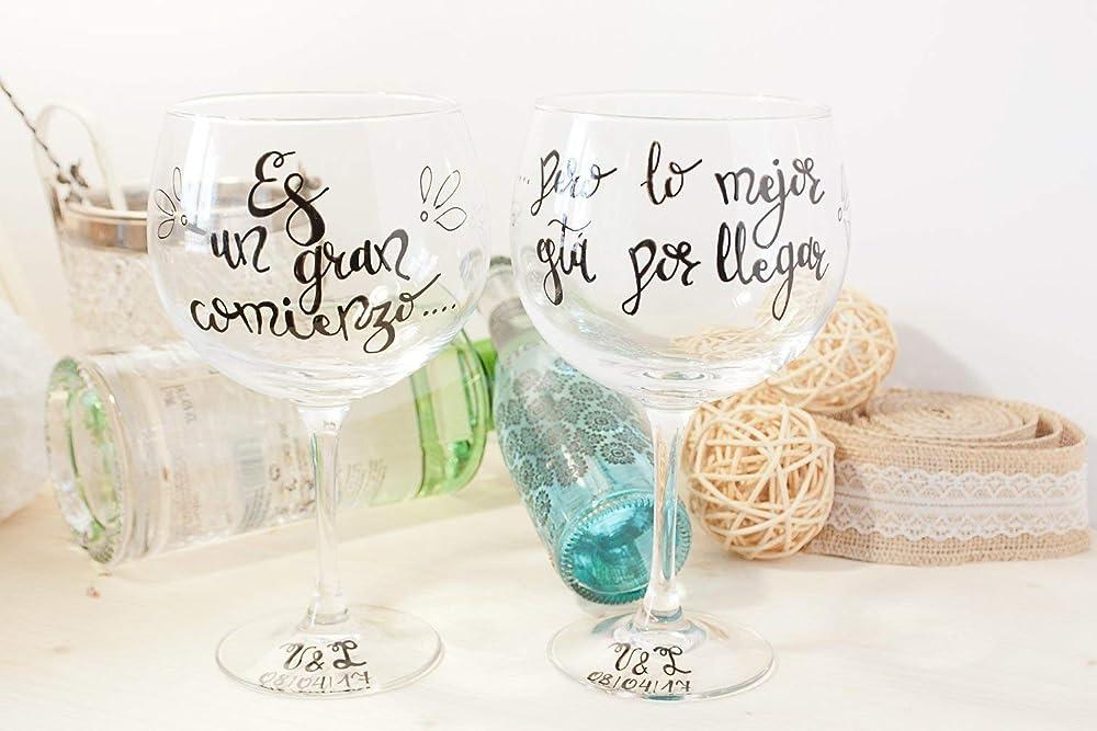 Copa de gin tonic personalizable - Copa personalizada para ...