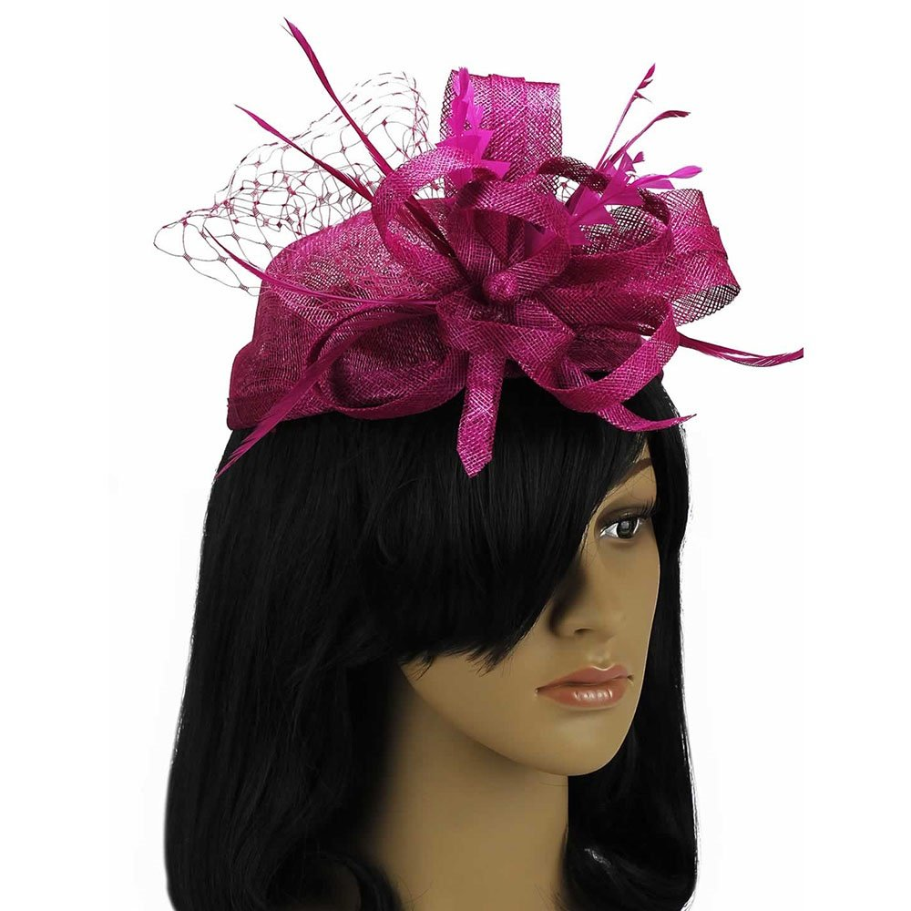LeahWard Womens Fashion Headband Hat Fascinator Weddings Ladies Day Race Royal Ascot Cocktail Dinner Hen Party