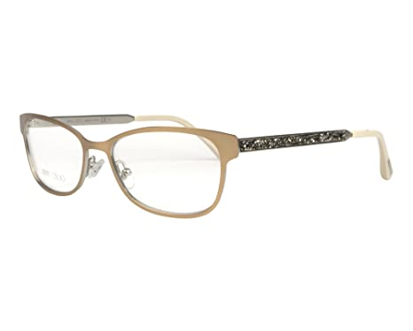 82f17cfb872 Jimmy Choo frame (JC-203 VZH) Metal Matt Brass - Glitter Silver at ...
