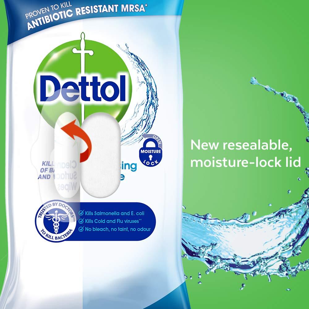 Dettol Toallitas Húmedas Antibacterianos - 252 toallitas: Amazon.es: Salud y cuidado personal