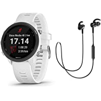 Garmin Multisportuhr Forerunner 245 Music GPS Black/red