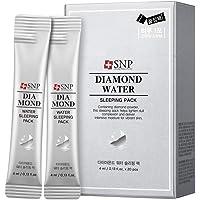 SNP Diamon Water Sleeping Mask, 4 milliliters (Pack of 20)