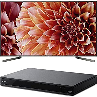 """Sony Bravia XBR85X900F 85"""" 4K HDR HLG Triluminos Android LCD TV with Google Assistant 3840x2160 & Sony UBPX800 4K HDR UHD Blu-Ray Player with Dolby Atmos 3D"""