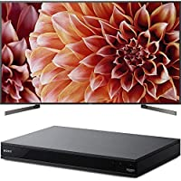 Sony Bravia XBR85X900F 85 4K HDR HLG Triluminos Android LCD TV with Google Assistant 3840x2160 & Sony UBPX800 4K HDR UHD Blu-Ray Player with Dolby Atmos 3D