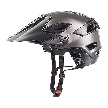 Uvex Jakkyl Silver-Black Helmet 2016