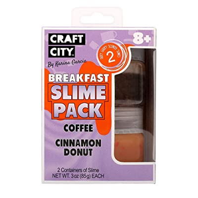 craft city Karina Garcia 2pk Breakfast Theme Slimes: Toys & Games