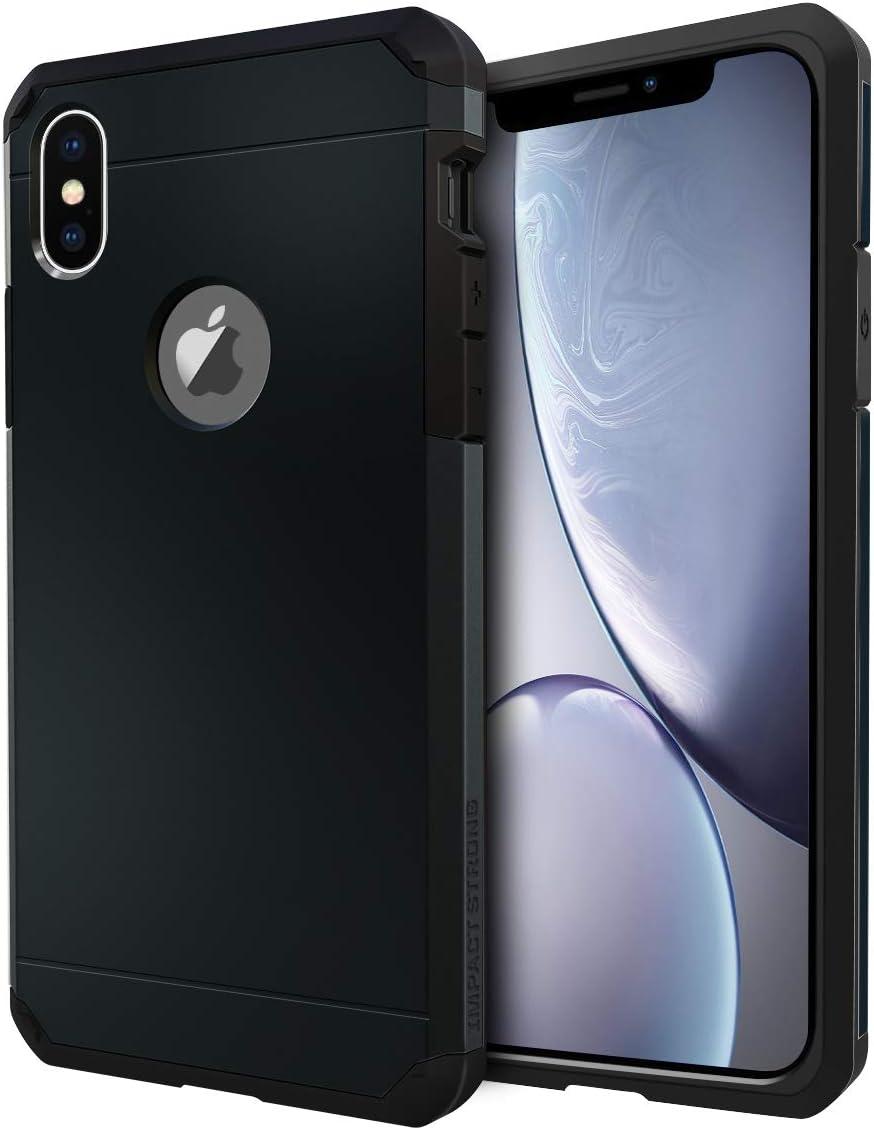 Funda de alta resistencia para iPhone X / iPhone Xs negra
