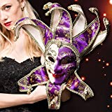 Peace ST Vintage Venetian Masquerade Mask Costume Halloween Cosplay Mask For Party/Ball Prom/Mardi Gras/Wedding/Wall Decoration